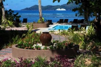 Pool Le Repaire Boutique Hotel La Digue Seychellen