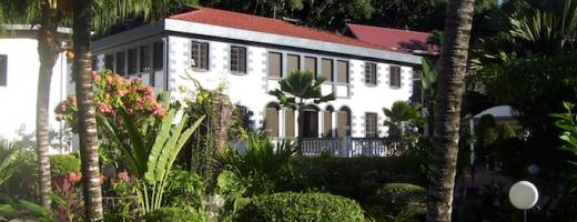 Chateau St Cloud La Digue Seychellen
